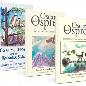 Polansky Books - Oscar the Osprey Children's Series 3 Books